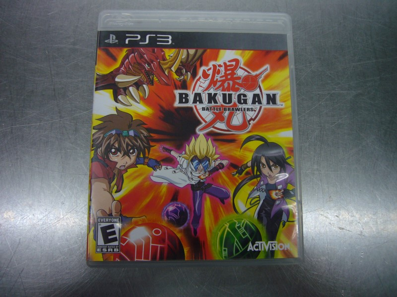 SONY PlayStation 3 Game BAKUGAN BATTLE BRAWLERS