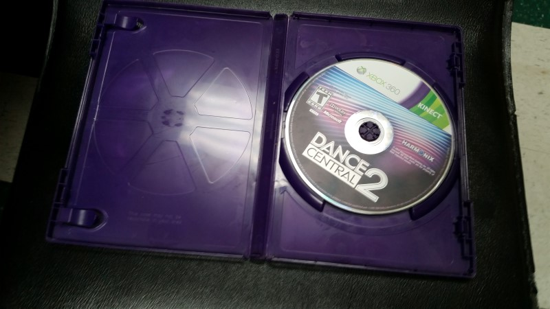 MICROSOFT XBOX 360 DANCE CENTRAL 2