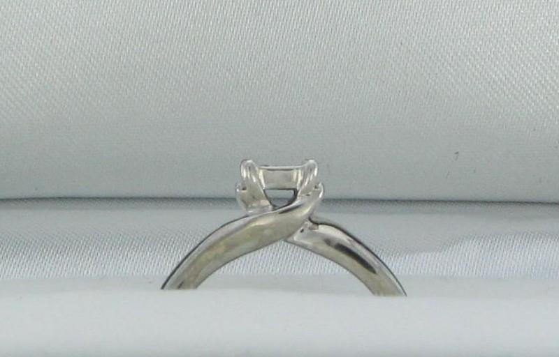 Lady's Diamond Fashion Ring 10 Diamonds .22 Carat T.W. 10K White Gold 1.75dwt