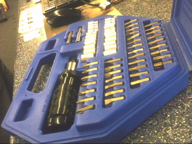 ALLTRADE Miscellaneous Tool 320098 SCREWDRIVER BIT SET