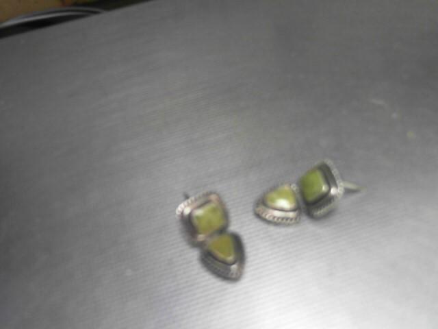 Silver Earrings 925 Silver 10.2g