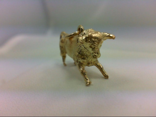 Gold Charm 18K Yellow Gold 4.4g