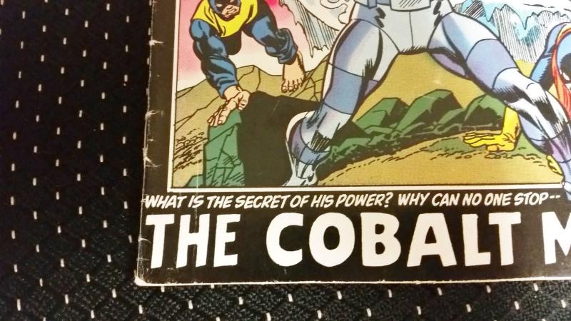 """X-Men Vol. 1 #79 Dec. 1972 """"We Must Destory...the Cobalt Man!"""" 20c"""