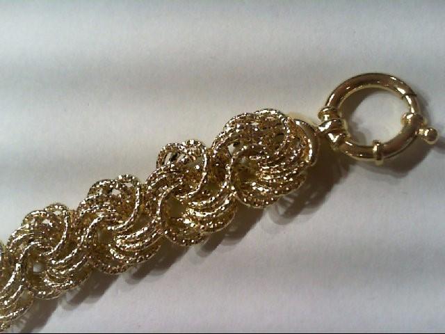 Gold Bracelet 14K Yellow Gold 7.1g