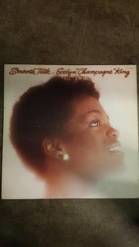 """Smooth Talk Evelyn """"Champagne"""" King Vinyl"""