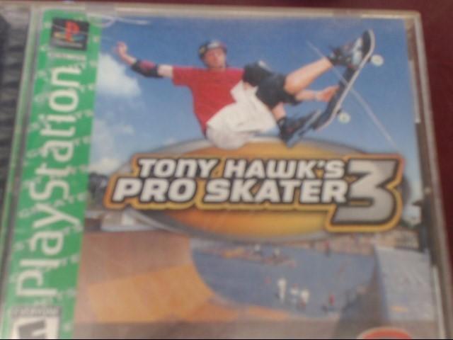 SONY PS1 TONY HAWK'S PROSKATER 3