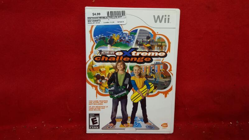 NINTENDO Nintendo Wii Game WII ACTIVE LIFE EXTREME CHALLENGE