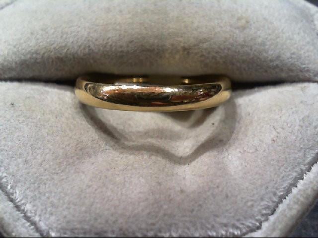 Lady's Gold Wedding Band 14K Yellow Gold 3.7g Size:8.3
