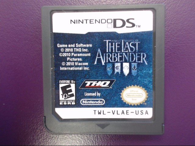 The Last Airbender (The Movie) - Nintendo DS Game