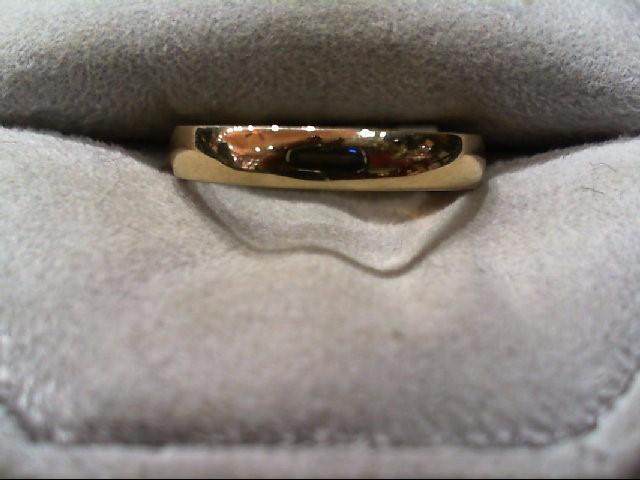 Lady's Gold Wedding Band 14K Yellow Gold 2.8g Size:7