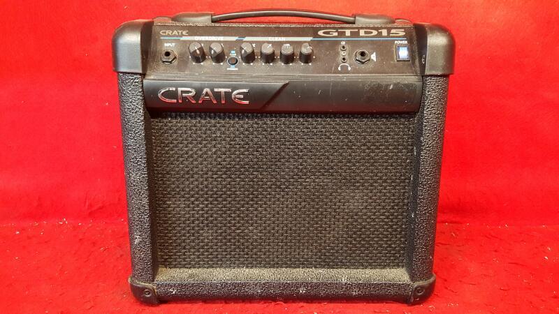 CRATE Electric Guitar Amp GTD15