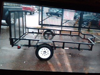 HOMEMADE TRAILER