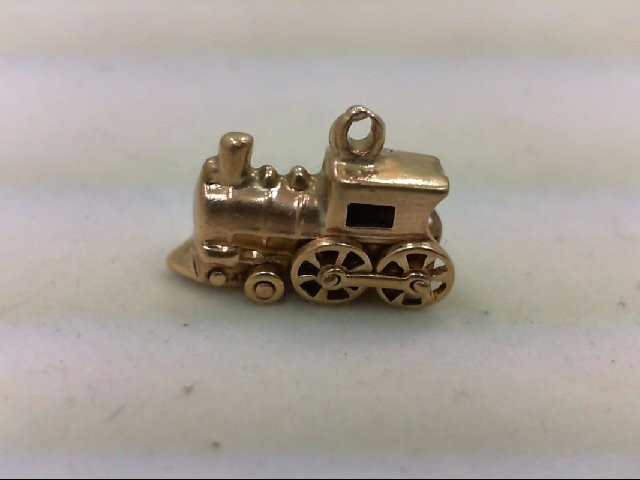 Gold Charm 14K Yellow Gold 2.3g