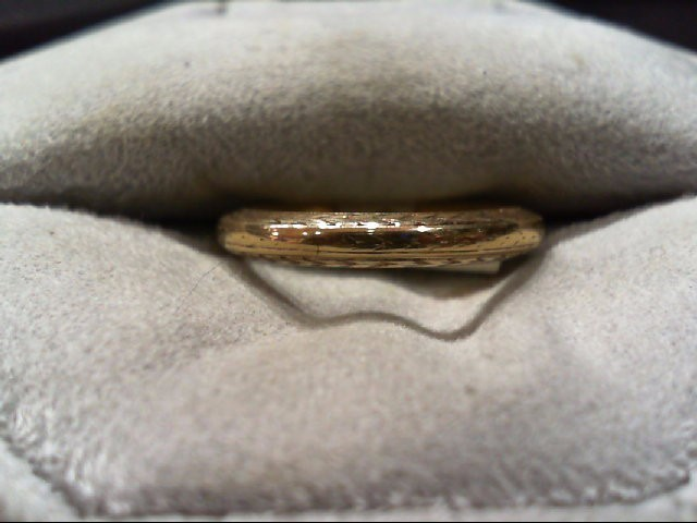 Lady's Gold Wedding Band 14K Yellow Gold 3.5g Size:5