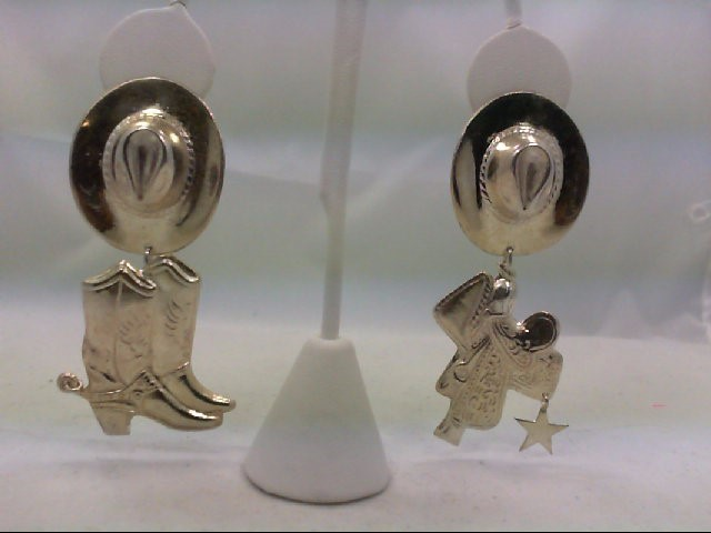 Silver Earrings 925 Silver 18.4g