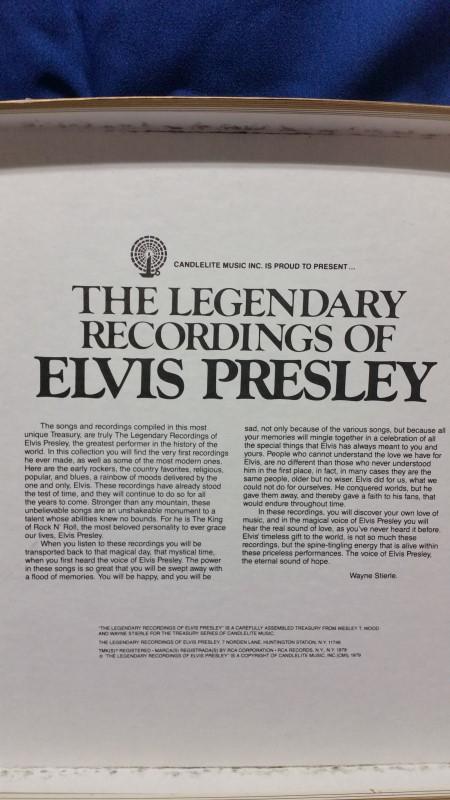 RECORD ALBUM MUSIC & MOVIES; ELVIS COLLECTABLE RECORDS IN MAROON CS