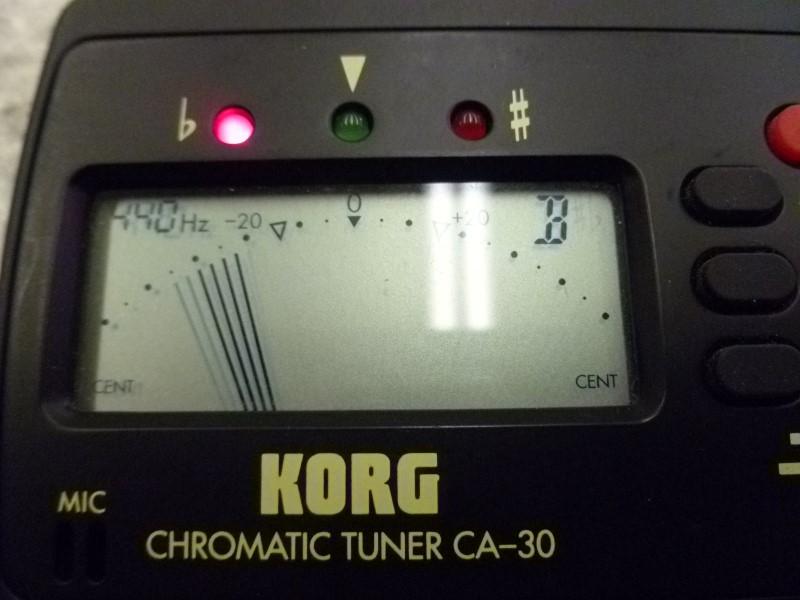 KORG CA-30 TUNER