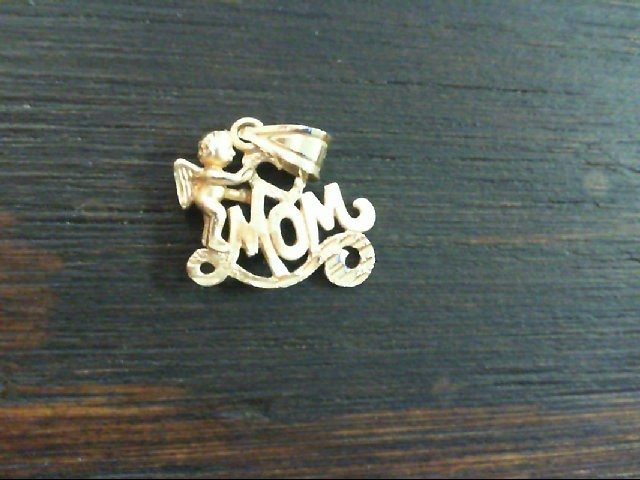 Gold Charm 14K Yellow Gold 1.4g