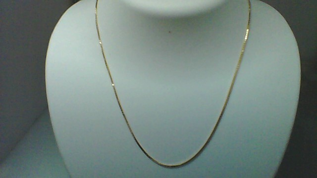 "16"" Inch Yellow Gold 14K Box Chain YG"