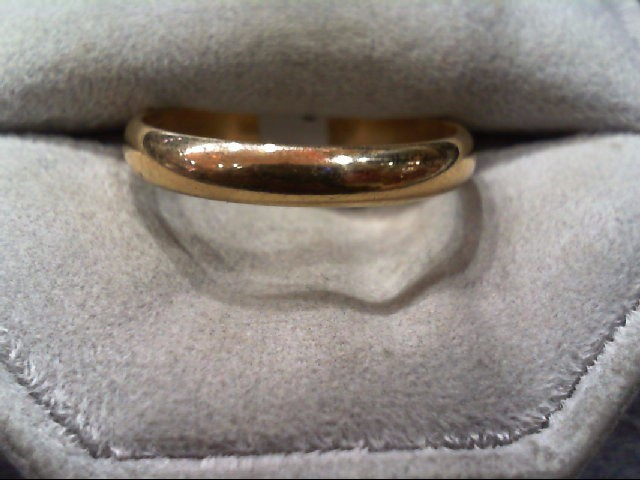 Gent's Gold Wedding Band 14K Yellow Gold 3.4g Size:11