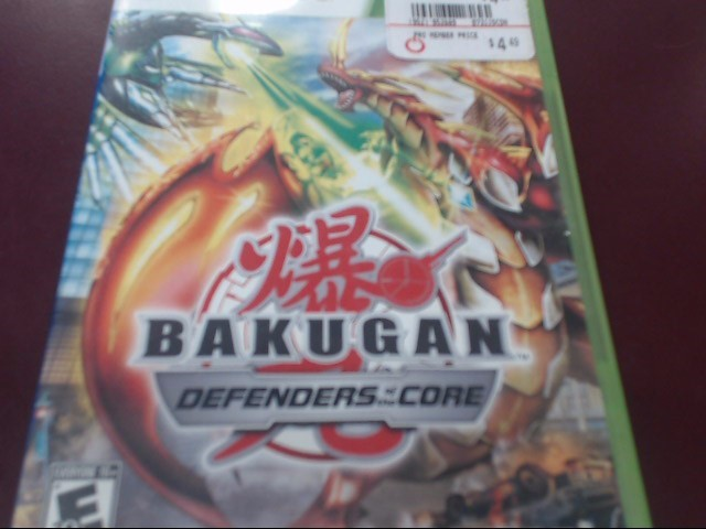 XBOX 360 GAME BAKUGAN