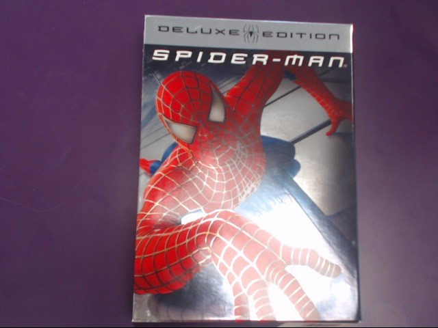 DVD MOVIE DVD SPIDERMAN DELUXE EDITION