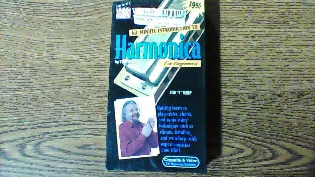 WATCH & LEARN VHS INTRO TO HARMONICA