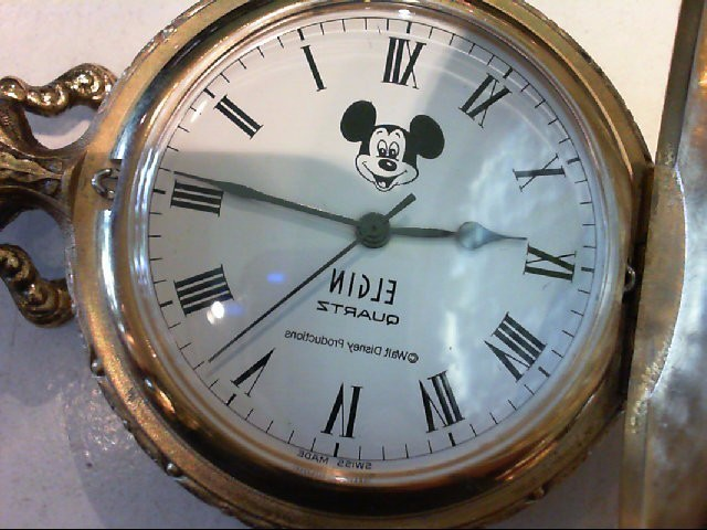 ELGIN Watches MICKEY MOUSE FACE WATCH
