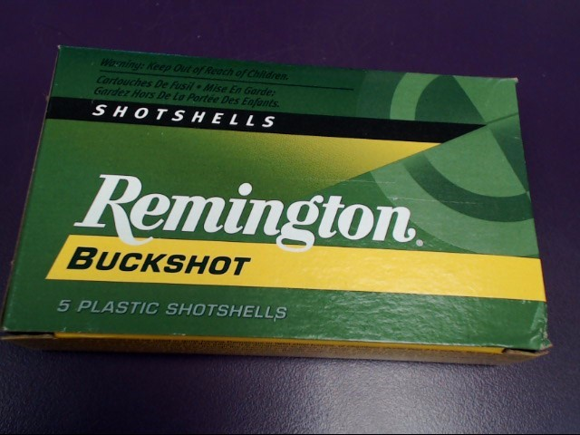 REMINGTON Ammunition 12BOO EXPRESS BUCKSHOT