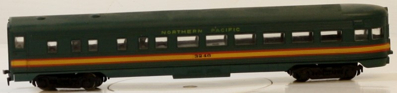 ATHEARN 1836 SL OBSERVATION, NORTHERN PACIFIC #3246 HO