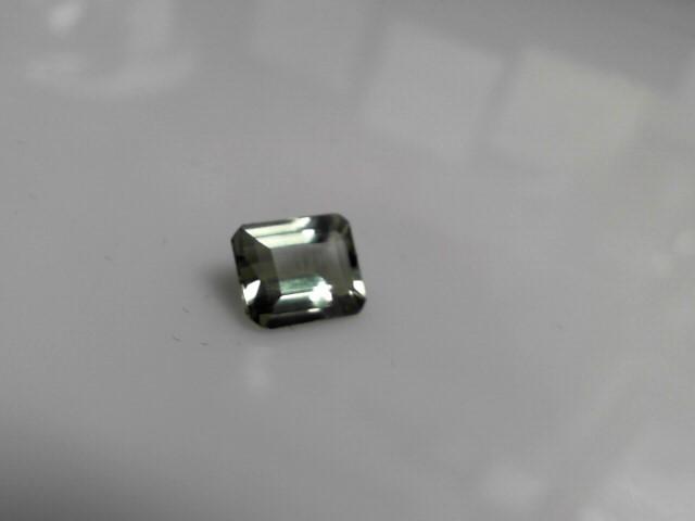3.67cts Peridot Emerald Cut Stone