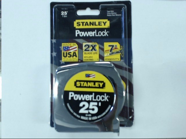 STANLEY Measuring Tool POWER LOCK 33-425 25'