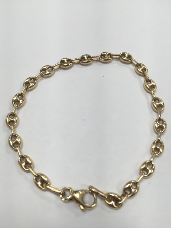 Gold Bracelet 14K Yellow Gold 4.75g