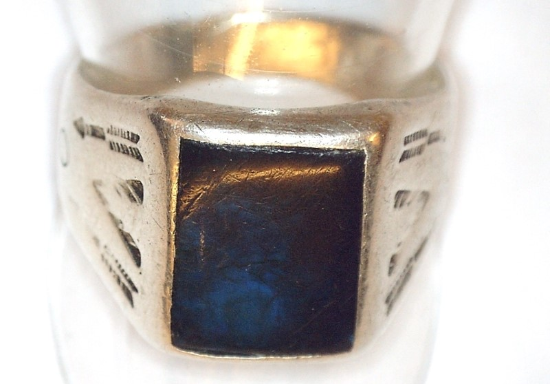 Lady's Silver Ring 925 Silver 4.4dwt Size:8.8