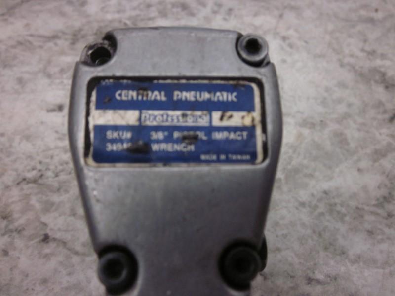 CENTRAL PNEUMATIC AIR IMPACT WRE