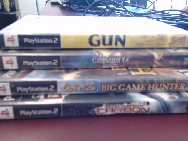 SONY PS2 CABELAS BIG GAME HUNTER