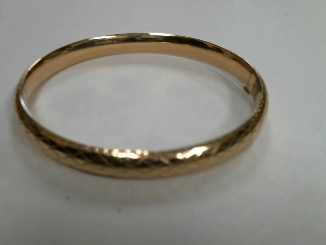 Gold Bracelet 14K Yellow Gold 9.8dwt