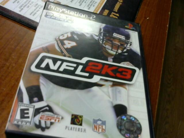 SONY Sony PlayStation 2 NFL 2K3