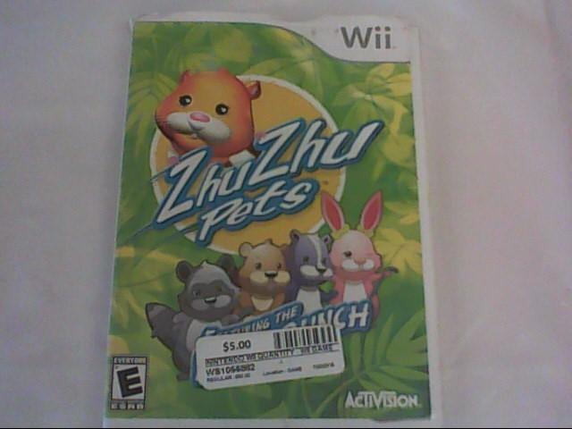ZHU ZHU PETS-WII GAME