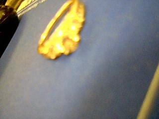 Lady's Gold-Diamond Anniversary Ring 9 Diamonds 1.75 Carat T.W. 14K White Gold