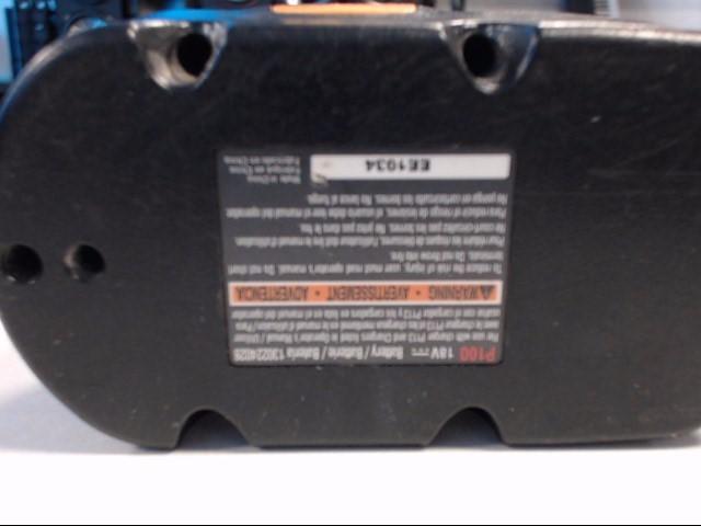RYOBI Battery/Charger P100