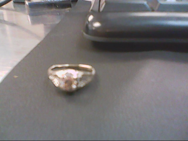 Lady's Diamond Solitaire Ring .40 CT. 14K 2 Tone Gold 1.8g
