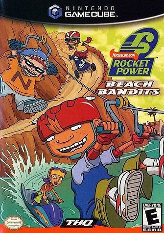 NINTENDO Nintendo GameCube Game ROCKET POWER: BEACH BANDITS GAMECUBE