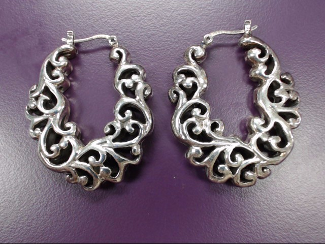Silver Earrings 925 Silver 11.6g