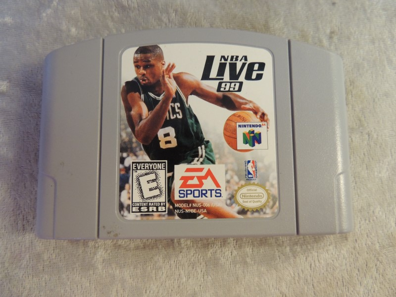 NINTENDO N64 GAME - NBA LIVE 99