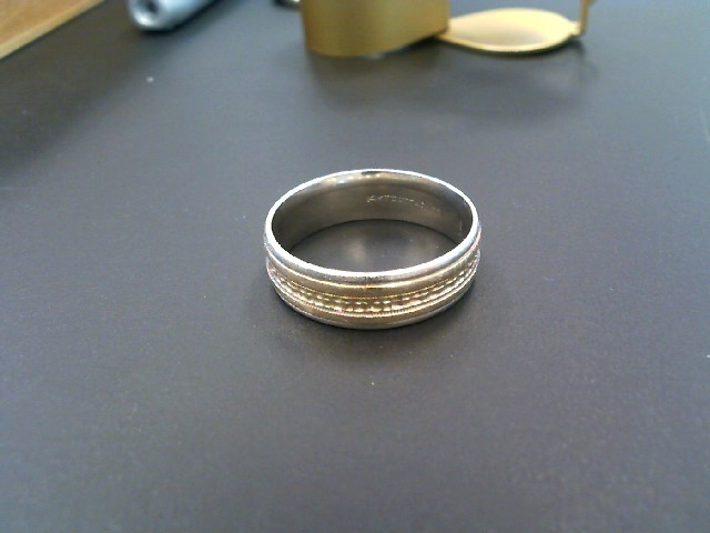 Gent's Gold Wedding Band 14K Yellow Gold 6.07g Size:10.3