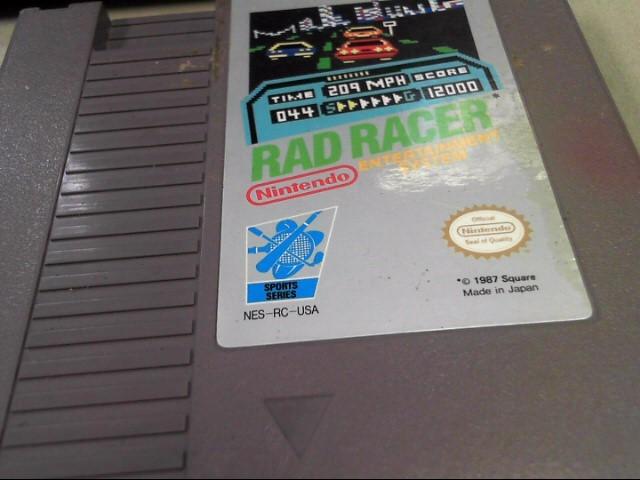 NINTENDO Nintendo NES NES RAD RACER