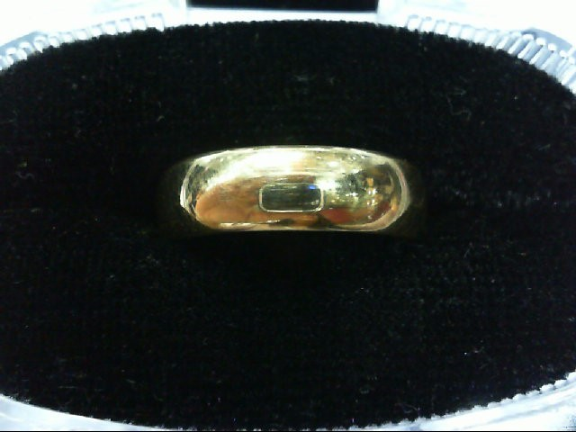 Gent's Gold Wedding Band 14K Yellow Gold 4g