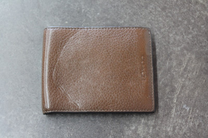 COACH Men's Accessory MENS WALLET