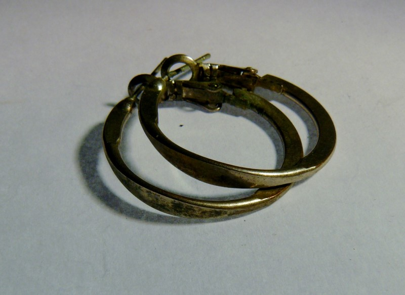 Silver Earrings 925 Silver 1.87dwt